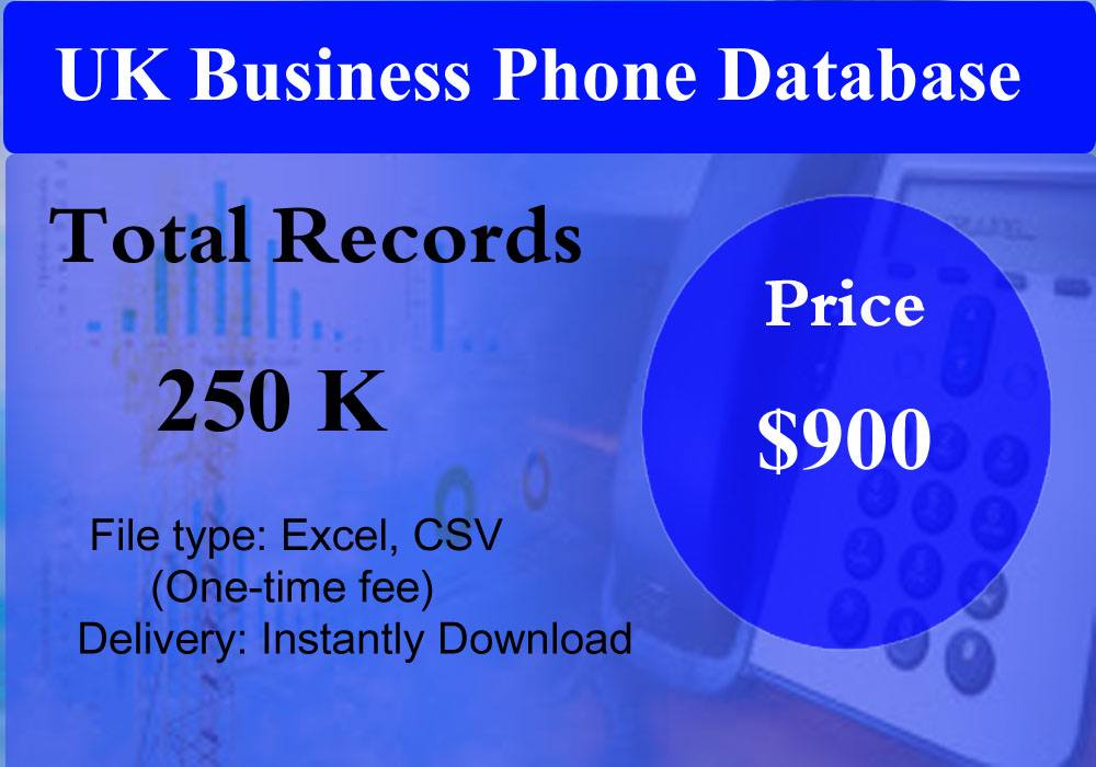 UK Business Phone Database