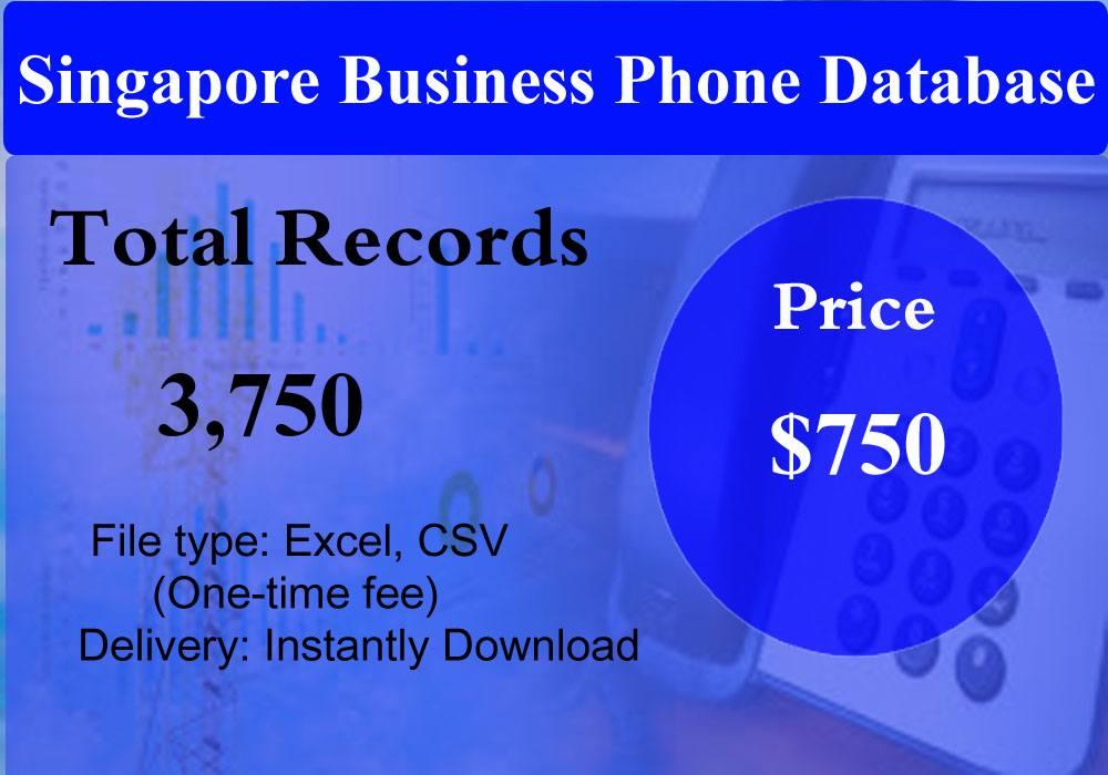 Singapore Business Phone Database