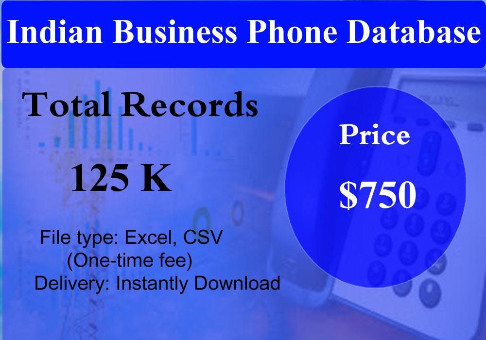 Indian Business Phone Database