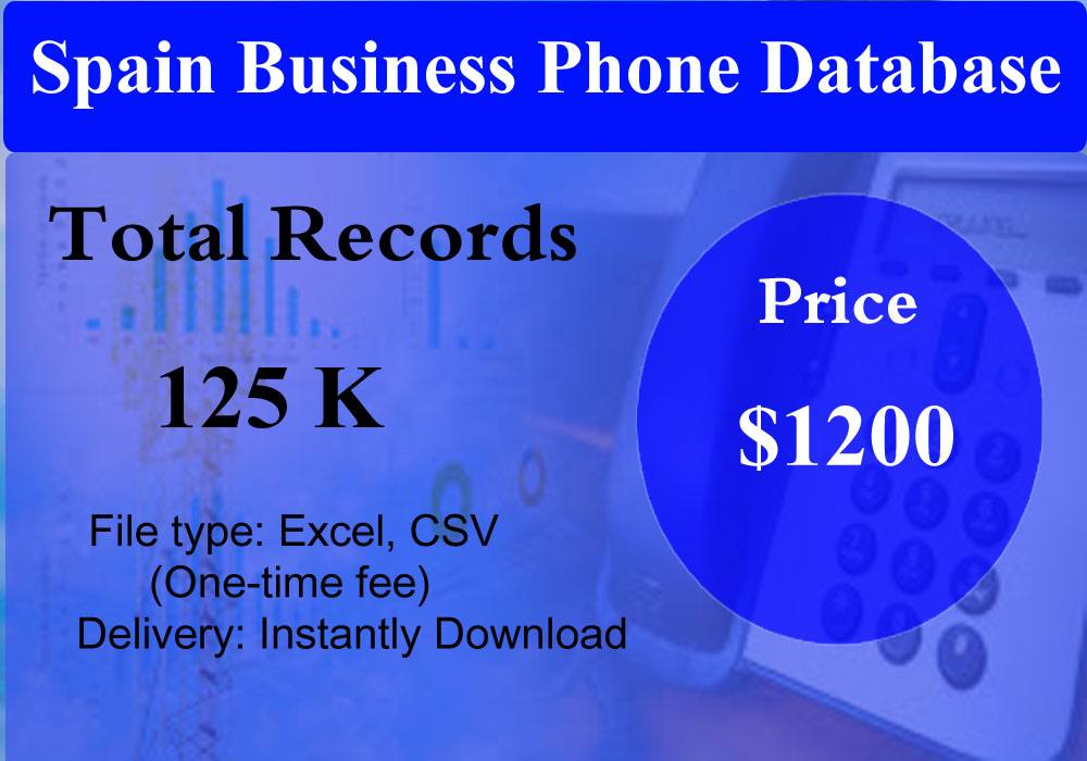 Spain Business Phone Database