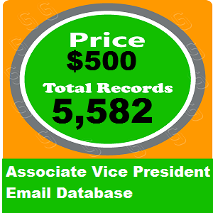 Associate Vice President Email Database