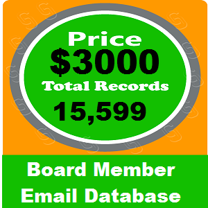 Board Member Email Database