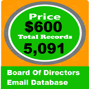 Board Of Directors Email Database