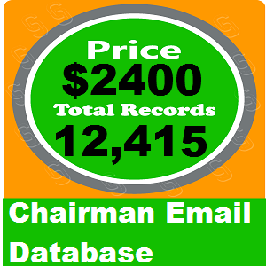 Chairman Email Database