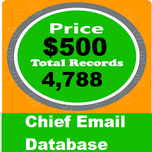 Chief Email Database
