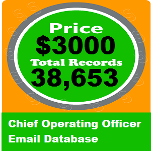 Chief Operating Officer Email Database