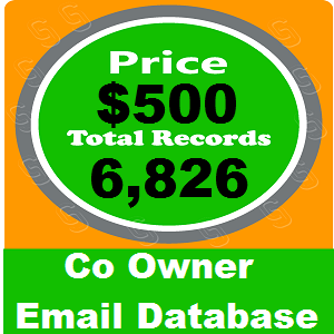 Co Owner Email Database