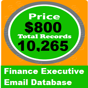 Finance Executive Email Database