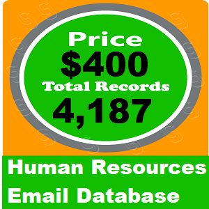 Human Resources Email Database