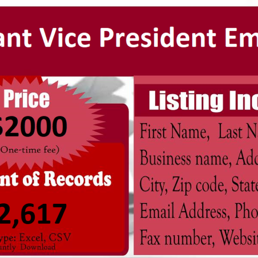 Assistant-Vice-President-Email-List