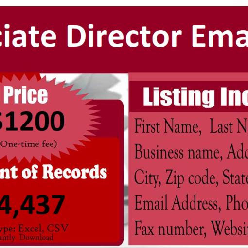 Associate-Director-Email-List