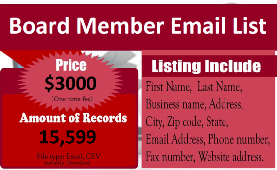 Board-Member-Email-List