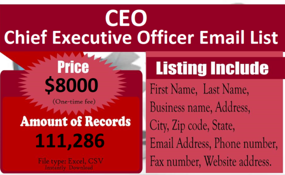 Chief-Executive-Officer-Email-List-CEO