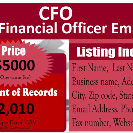 Chief-Financial-Officer-Email-List