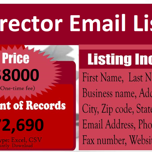 Director-Email-List