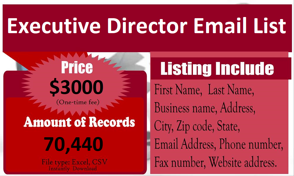 Executive-Director-Email-List