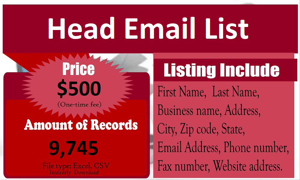 Head-Email-List