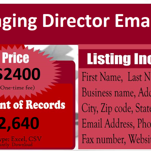 Managing-Director-Email-List