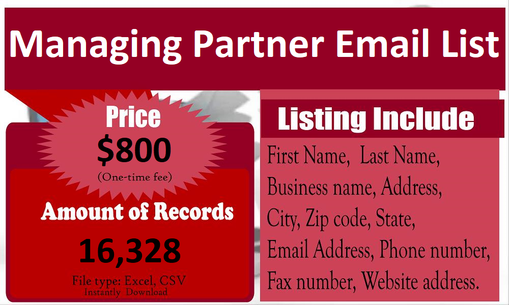 Managing-Partner-Email-List