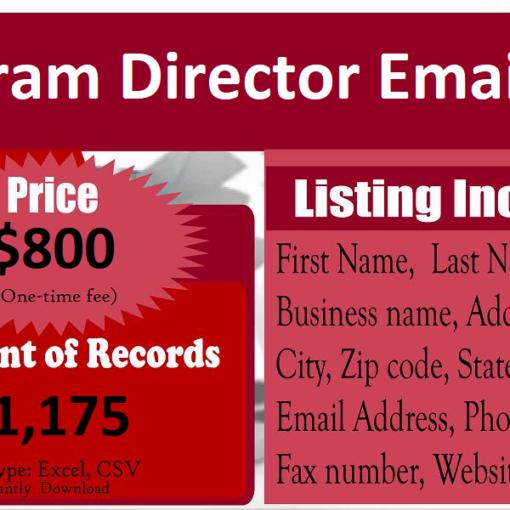 Program-Director-Email-List