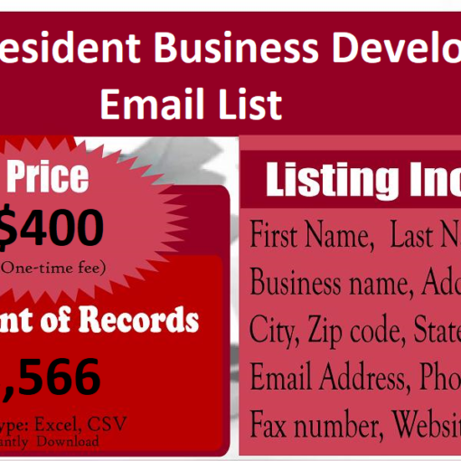 Vice-President-Business-Development-Email-List