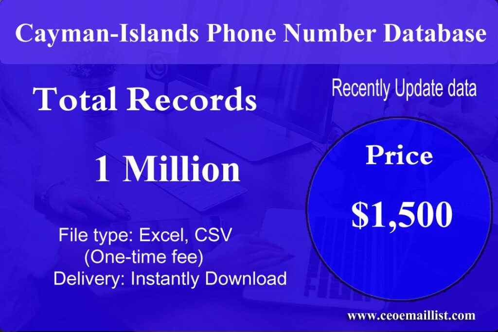 Cayman-Islands Phone Number Database