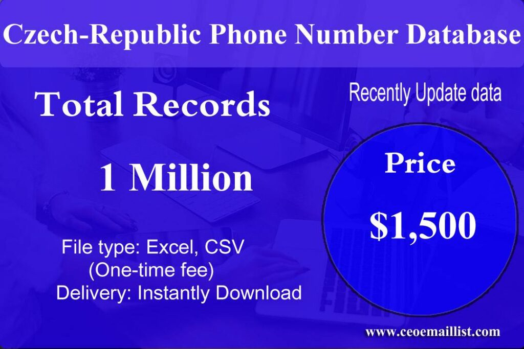Czech-Republic Phone Number Database
