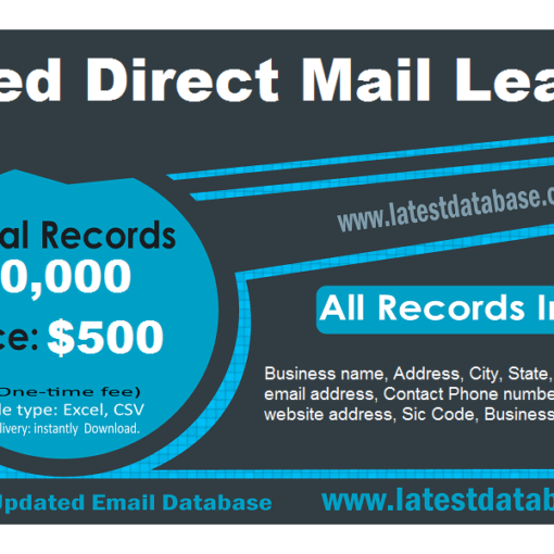 Aged Direct Mail Leads