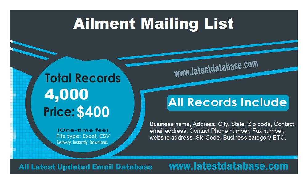 Ailment Mailing List