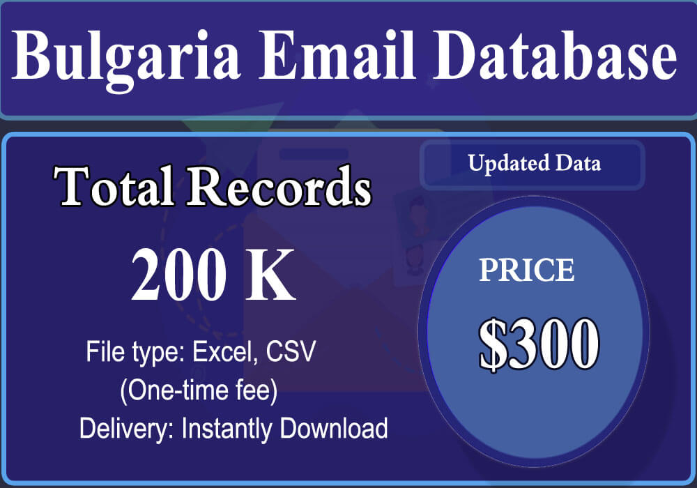 Bulgaria Email Database