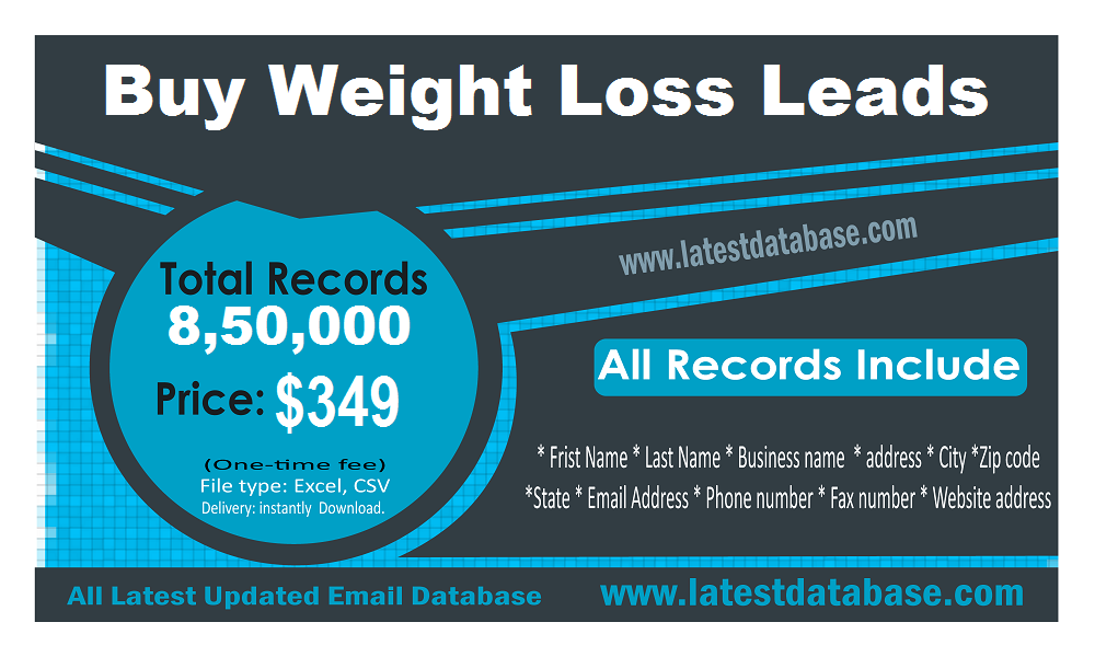 Buy Weight Loss Leads