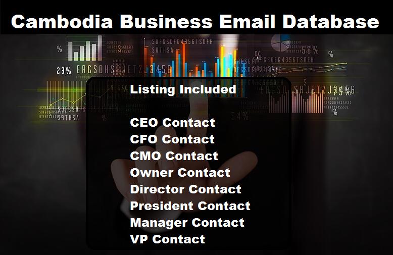 Cambodia Business Email Database