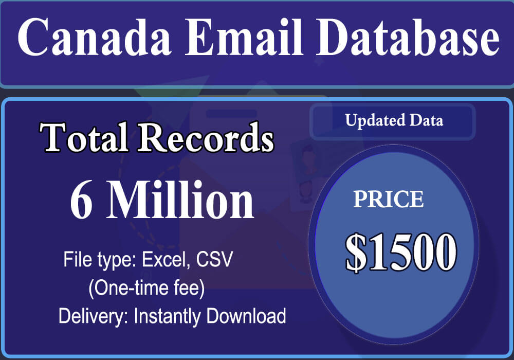 Canada Email Database