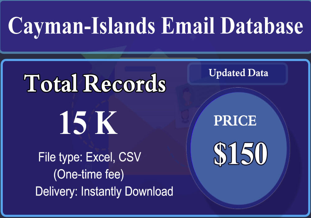 Cayman-Islands Email Database