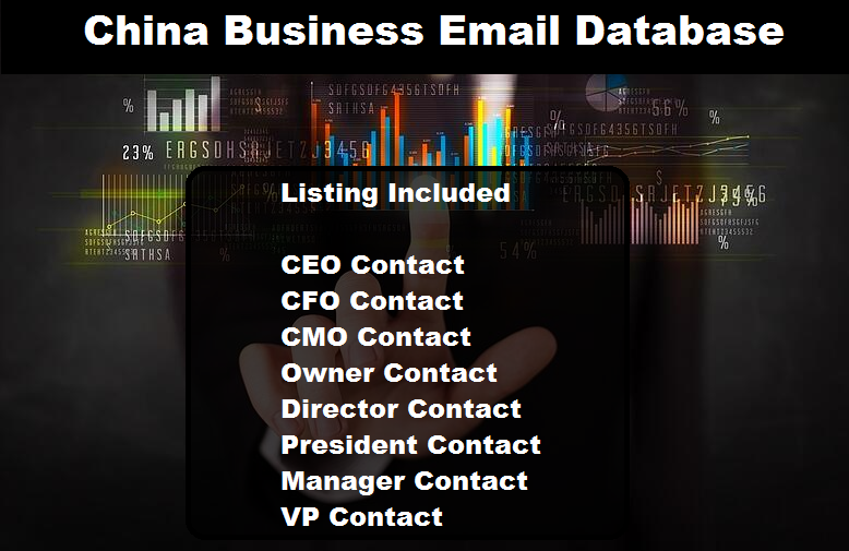 China Business Email Database