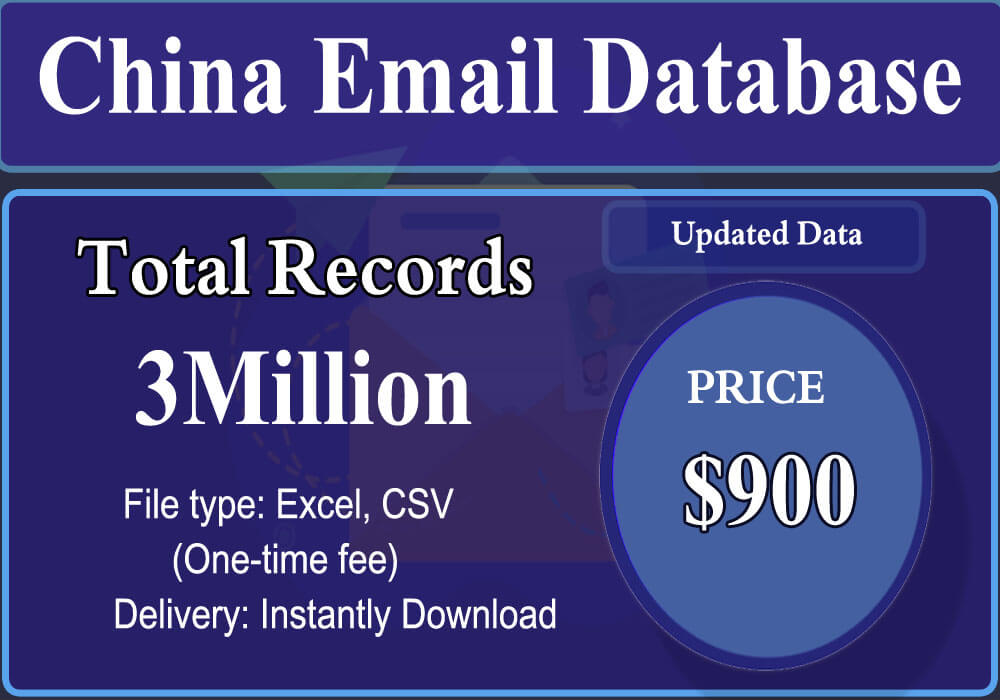 China Email Database