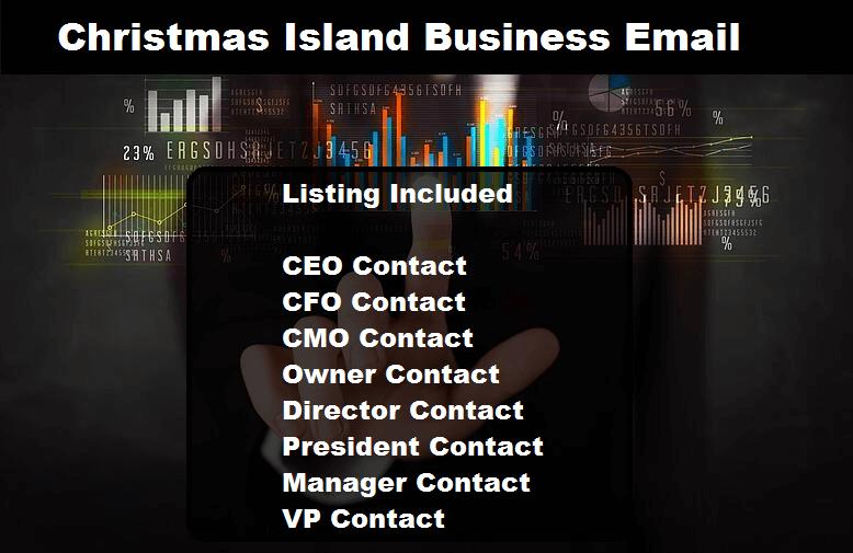 Christmas Island Business Email Database