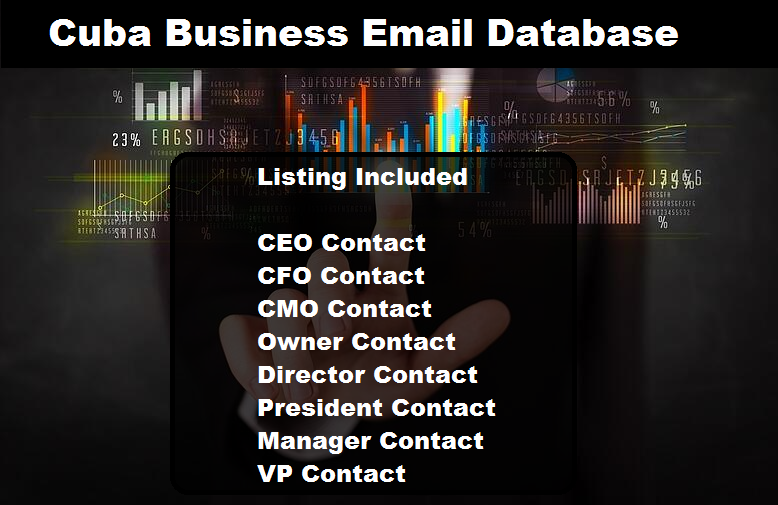 Cuba Business Email DatabaseCuba Business Email Database