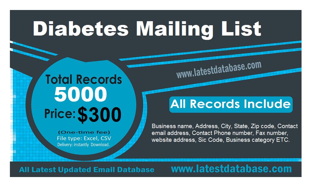 Diabetes Mailing List