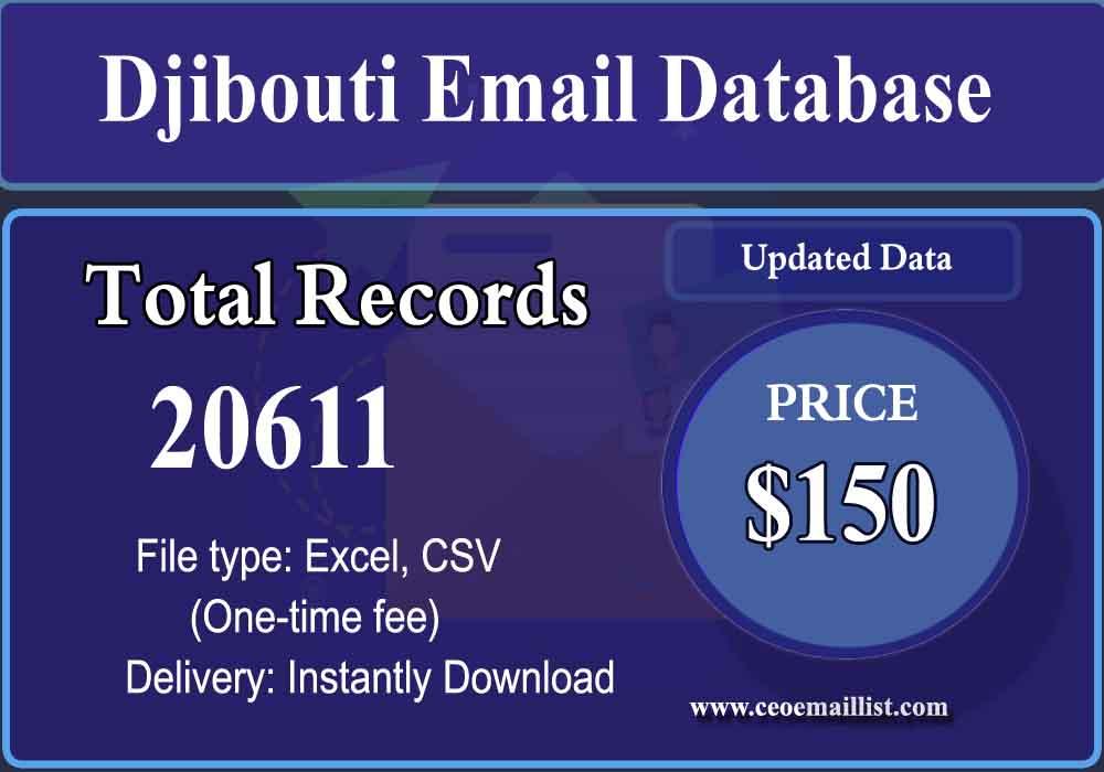 Djibouti Email Database