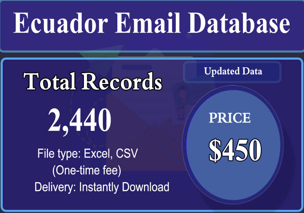 Ecuador Email Database