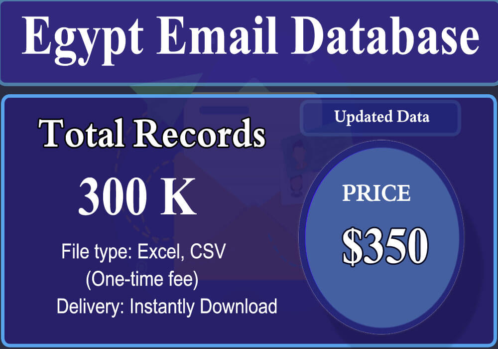 Egypt Email Database