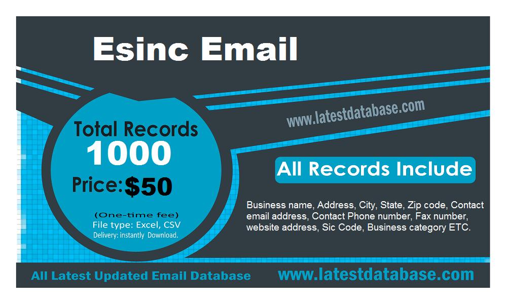 Esinc Email