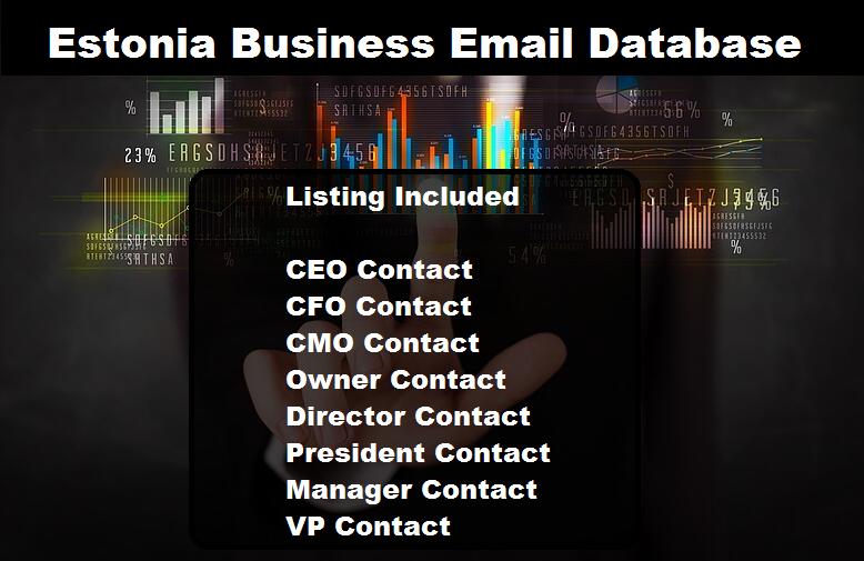 Estonia Business Email Database