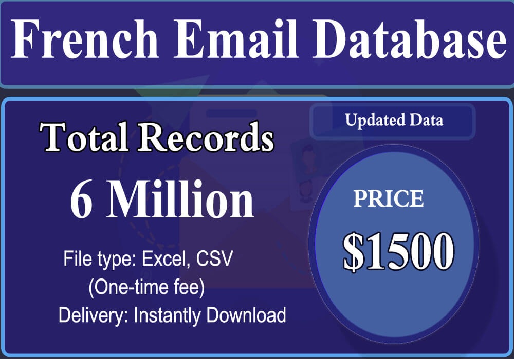 French Email Database