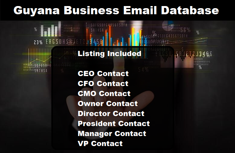 Guyana Business Email Database