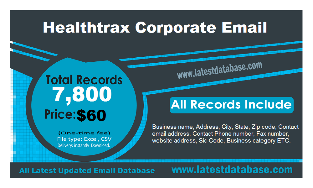 Healthtrax Corporate Email