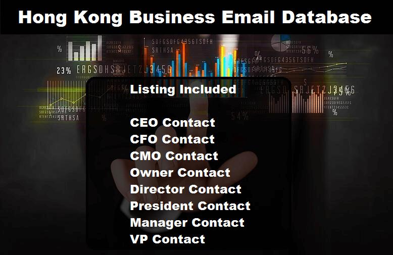 Hong Kong Business Email Database
