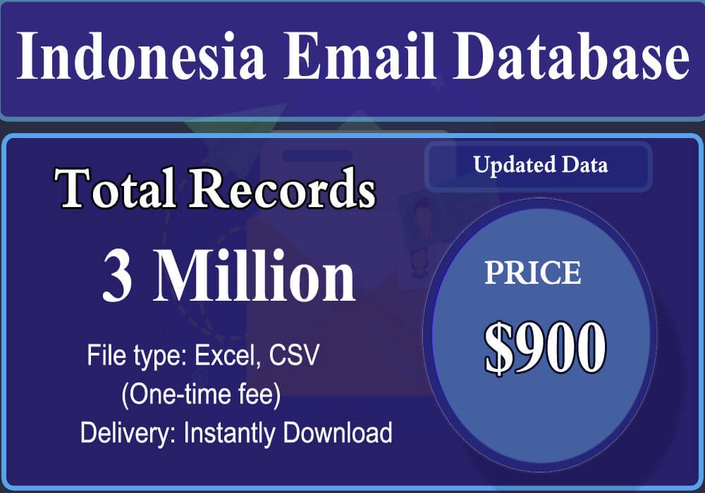 Indonesia Email Database