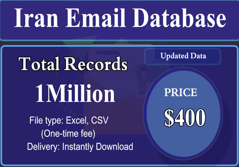 Iran Email Database